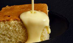 Sponge Mix with Custard