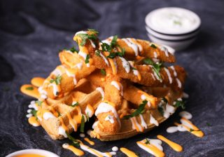Nacho Chicken & Waffles