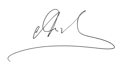 Andy Stapley, Chief Executive Officer's signature