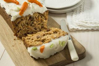 Carrot patch loaf cake
